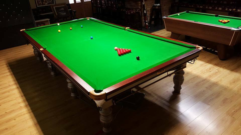 12ft riley aristocrat snooker table steel block match