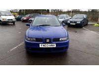 2003 SEAT LEON CUPRA TURBO 1.8T 6SPEED GEARBOX 5DR SPORTY HATCH £600 NO OFFERS PX WELCOME