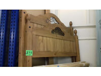 CORONA, Solid Pine DOUBLE. 4'6'' BED FRAME.......Local Delivery........
