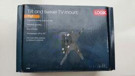 """Tilt an swivel tv mount for TVs upto 26"""""""