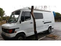 Reliable Mercedes 310D camper van, low mileage, outstanding interior. Has to be seen!