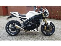 triumph speed triple 1050 low mileage fully loaded may px