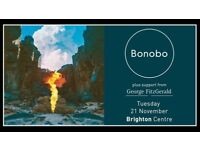 Two standing tickets to see Bonobo at the Brighton centre tomorrow.