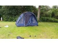 Outwell Rockwell 5 tent, extension, footprint ground sheet and carpet