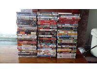 SUPER JOB LOT OF OVER 100 ASSORTED DVDS ALL REG 2