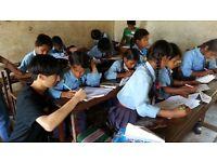 Volunteering in 2017 in Nepal