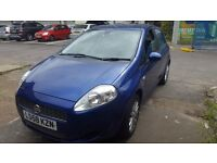 Fiat punto automatic low millage!!