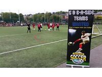 6-A-SIDE TEAMS WANTED IN TELFORD