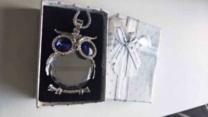 Crystal Owl Necklace Hobart CBD Hobart City Preview
