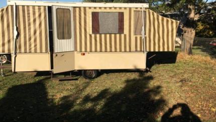Selling old school camper