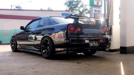 R34 GTT Skyline Manuel