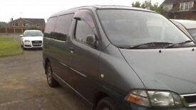 Toyota granvia day van surf bus 8 seats