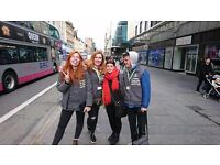 Oxfam charity street fundraiser - no experience - £8.50-£14/hr