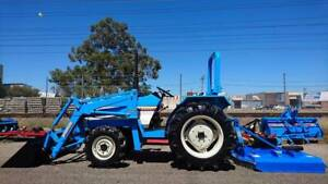 TRACTORAMA MITSUBISHI 28HP TRACTOR (4:1 SPLIT BUCKET/FEL Welshpool Canning Area Preview