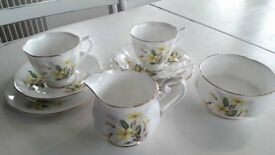 Royal Albert china trio