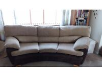 2 and 3 seater sofa from DFS