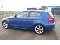 "**2007 BMW 118D 2.0 Turbo Diesel, 17"" Alloys And 6 speed gearbox** ONLY 78K MILES, FINANCE AVAILABLE"