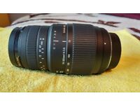 Sigma 70-300 1:4-5.6 Zoom/Macro Lens, Nikon Fit
