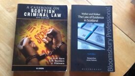 The Law of Evidence in Scotland ( + A Casebook on Scottish Criminal Law for FREE)