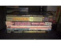 Load of graphic novels (Saga, Elephantmen, more)