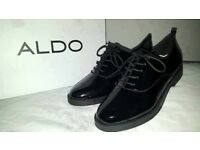 Sale priced Aldo Thysa Patent-leather Derby Shoes Brand New