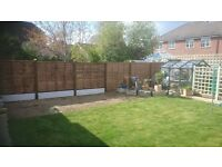 Fencing, Tree Work, Garden work Know Your Roots Ltd