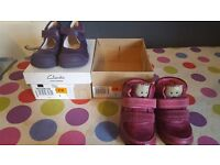 Girls Clarks Size 5 F Shoes & Boots