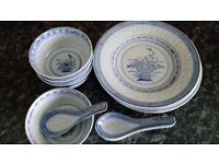 Chinese crockery set