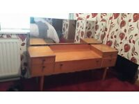 VINTAGE DRESSING TABLE 1960'S / 70'S
