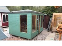 EX DISPLAY 10FT X 8FT SUMMER HOUSE