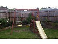 Plum Tamarim Swing & Slide set