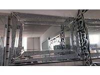 designer glitz mirror 80 x120 cm viewing welcome