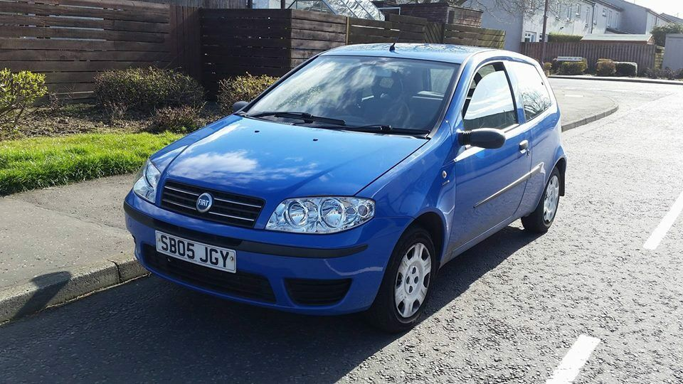 2005 fiat punto 1 2 in livingston west lothian gumtree. Black Bedroom Furniture Sets. Home Design Ideas