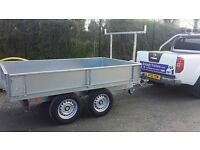 8X5 DROPSIDE BUILDERS TRAILER SAVE £200 OF R.R.P