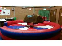 rodeo bull hire from love2bounce we do more best prices
