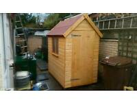 Timber shed .solid wood of the highest quality . Delivery available