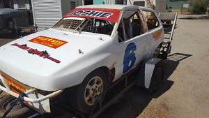 G100  Charade Speedway Junior Sedan  and Trailer Package Quinns Rocks Wanneroo Area Preview