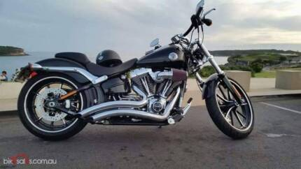 2015 Harley-Davidson Breakout (FXSB) ONLY 1955KM Ashbury Canterbury Area Preview