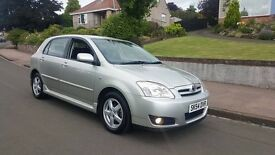 """ONLY 24,000 MILES"" Toyota Corolla 1.4 VVT-i (2005) - 5 Door hatch - New MOT - HPI clear!"