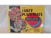 Spear's Fancy Placemats Childrens Craft Age 7 Years + Brand New & Sealed V RARE!