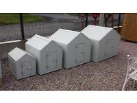 Great quality wooden dog houses and hen ark