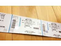 Being collected - 2 x Guns N' Roses tickets Slane Saturday 27 May 2017