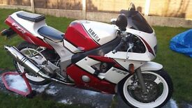 Yamaha FZR 400 RR in good condition for sale - a lot spent and comes with spare SP model engine