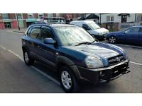 4x4 Tucson, 2006, Top spec, full electrics, MOT'd