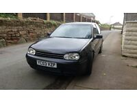 VW mk4 Golf, 2.8 v6 4 motion.