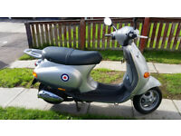 vespa piaggio et2 50cc 2 stroke 2002 twist and go