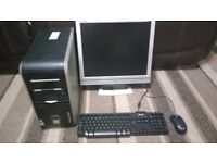 Packard Bell AMD Athlon 64 3200+ 2Ghz 2GB PC Full Computer Windows 7 WIFI 30 Day Warranty