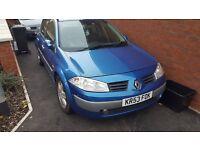 Renault Megane 53 plate spares/repairs