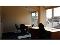 Office Rental for 3/4 Persons fr £75wk Fully Serviced.5mins fr M275/2mins fr Eastern Rd. 24hr Access