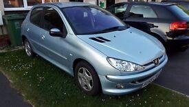 Peugeot 206 1.4 petrol.